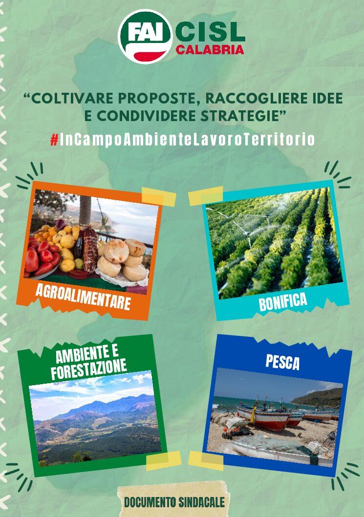 Documento Proposte Sistema Agro Ambientale Calabrese